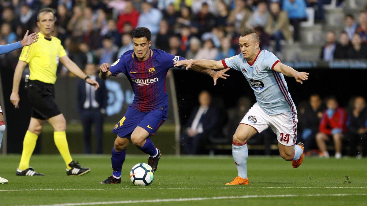 Kết quả Celta Vigo 2-2 Barca: Chủ nhà gặp may