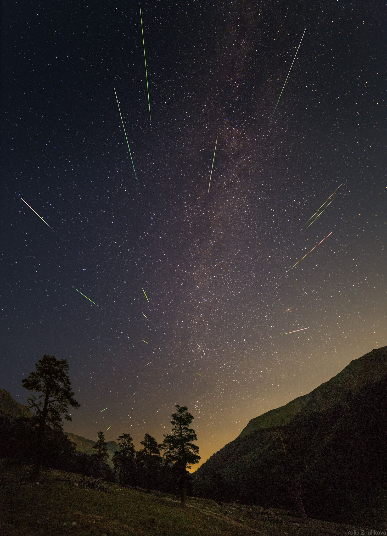 метеорный поток персеиды фото с телефона инструмент