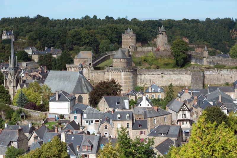 Fougeres #Bretagne #France<br>http://pic.twitter.com/WdSjOGDpIm
