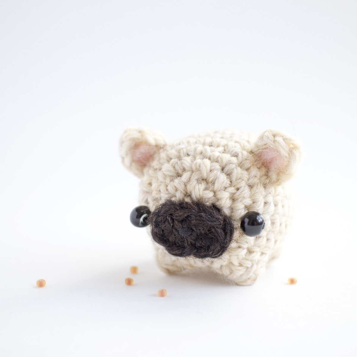 Mini Pug Personalizado (amigurumi) no Elo7 | Ateliê Pink & Purple ... | 1200x1200