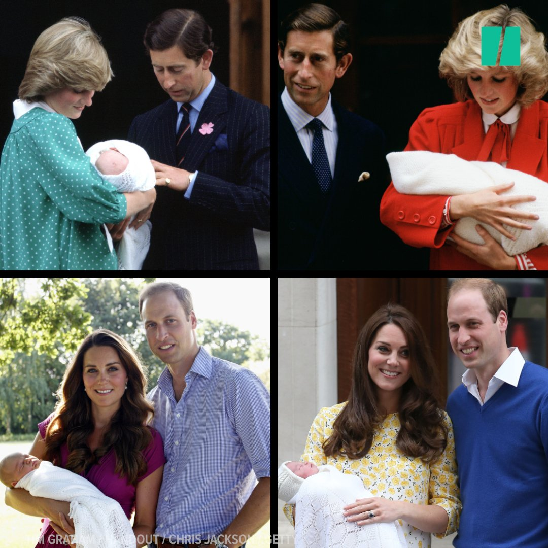Fans gushing over newborn royals is nothing new. https://t.co/mqgXlv1wdW