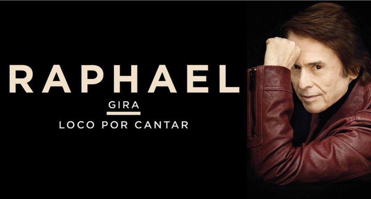 Raphael está loco por cantarle a su públ...
