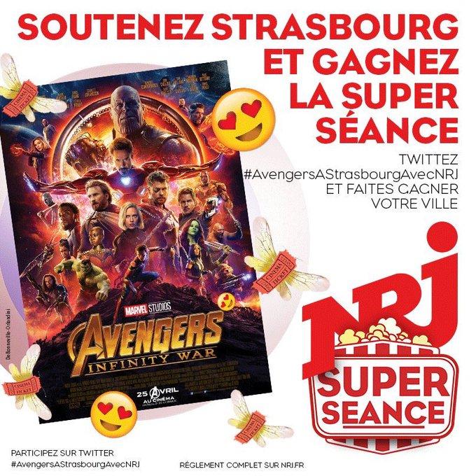 #AvengersAStrasbourgAvecNRJ Photo