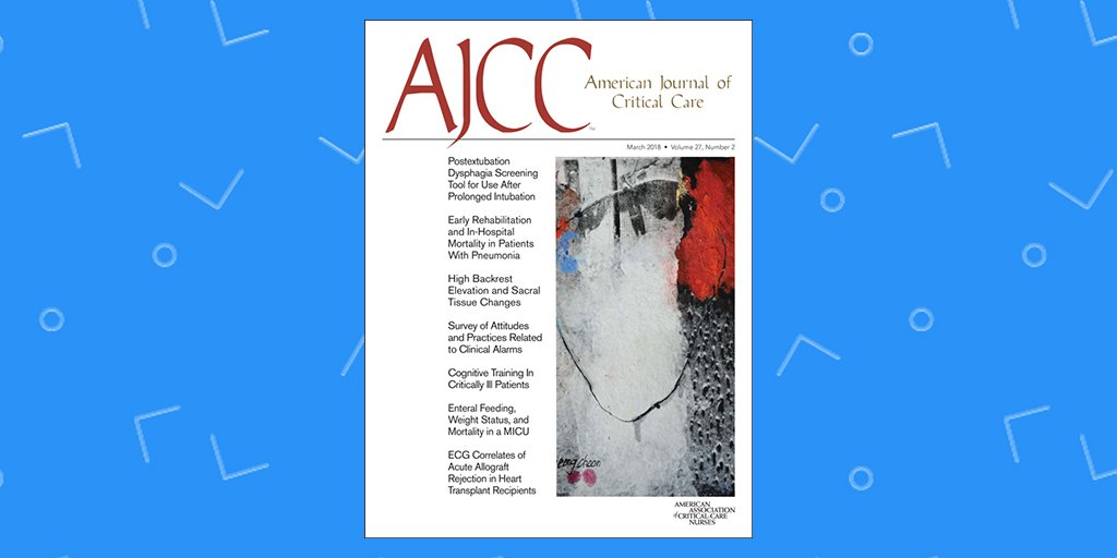 AACN Critical Care on Twitter: