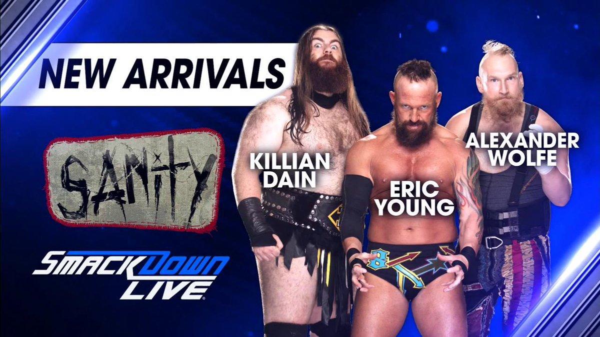 Resultado de imagem para SAnity WWE 2018