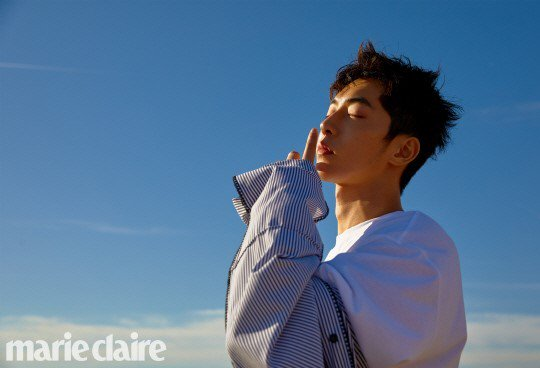 Nam Joo Hyuk updates fans on what he's been up to lately from Los Angeles in 'Marie Claire' https://t.co/ItSXr7rwgQ