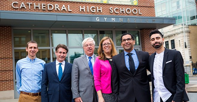 test Twitter Media - WH held its biennial morning Career Day for @CHSBoston students on April 10, and welcomed professionals from a wide variety of career fields to speak across 20 classrooms at the school's historic campus https://t.co/aStIPVdnYr https://t.co/BpUaamDl8T