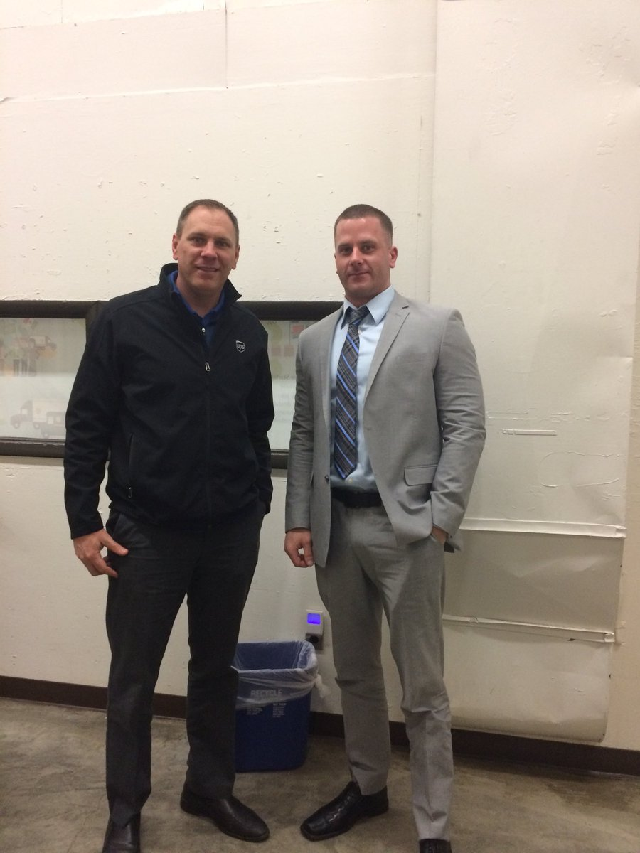 Congrats to Rich Hetzel being promoted to full time supervisor on the Oregon Ave preload