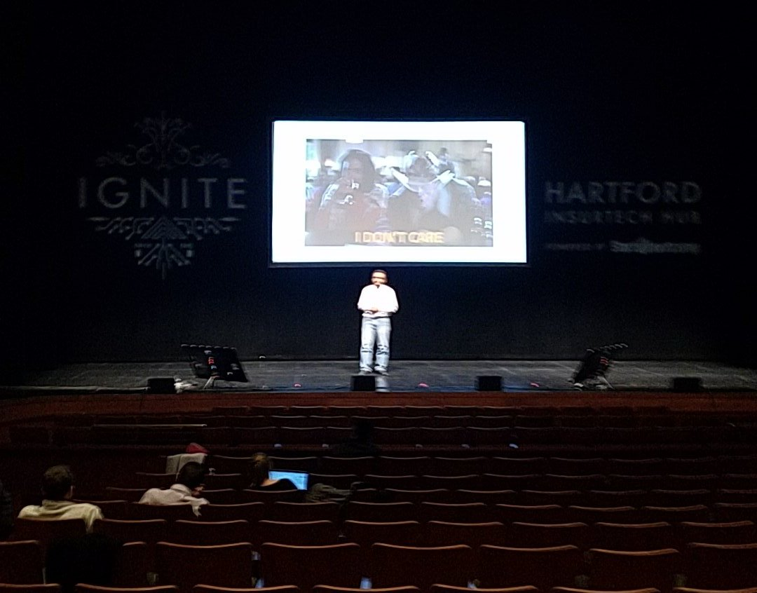 Getting ready for #IGNITE @sbcInsurTech Demo Day in #Hartford <br>http://pic.twitter.com/nahwPuvwmK