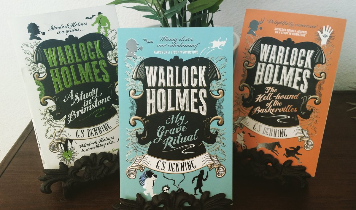 The third Warlock Holmes book releases next month! Have you ordered your copy? #bookbirthday #scifi #amreadingfantasy #sherlock #bookstagram #booktalk #SFF #MASHUP #audiobook @BNBuzz @BakerStBabes<br>http://pic.twitter.com/EC1sb3LIGW