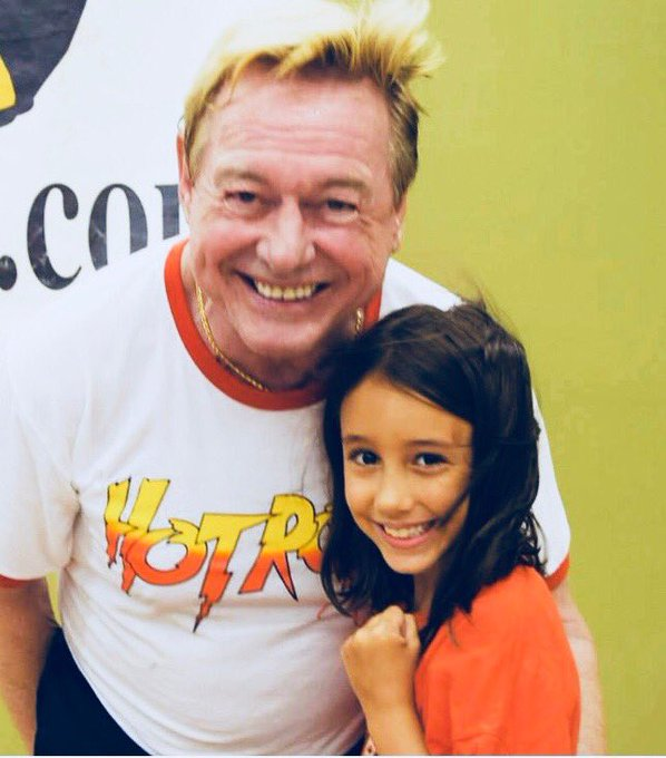Happy Birthday Roddy Piper        This picture is from 4 years ago! He was such a sweetheart