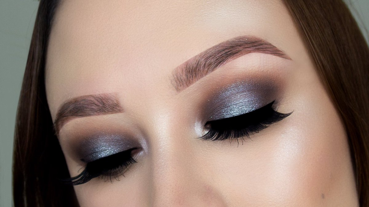 Marie Appelt Makeup On Twitter Silver Prom Makeup 2018 Prom