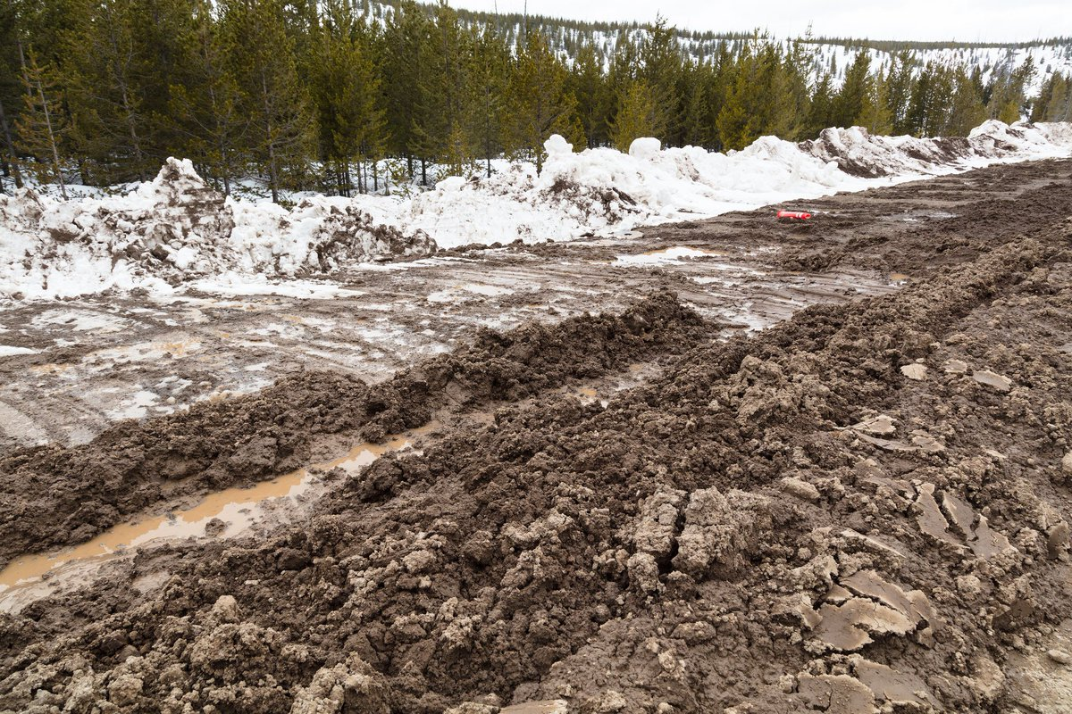 yellowstonenps on twitter some park roads opening to cars this