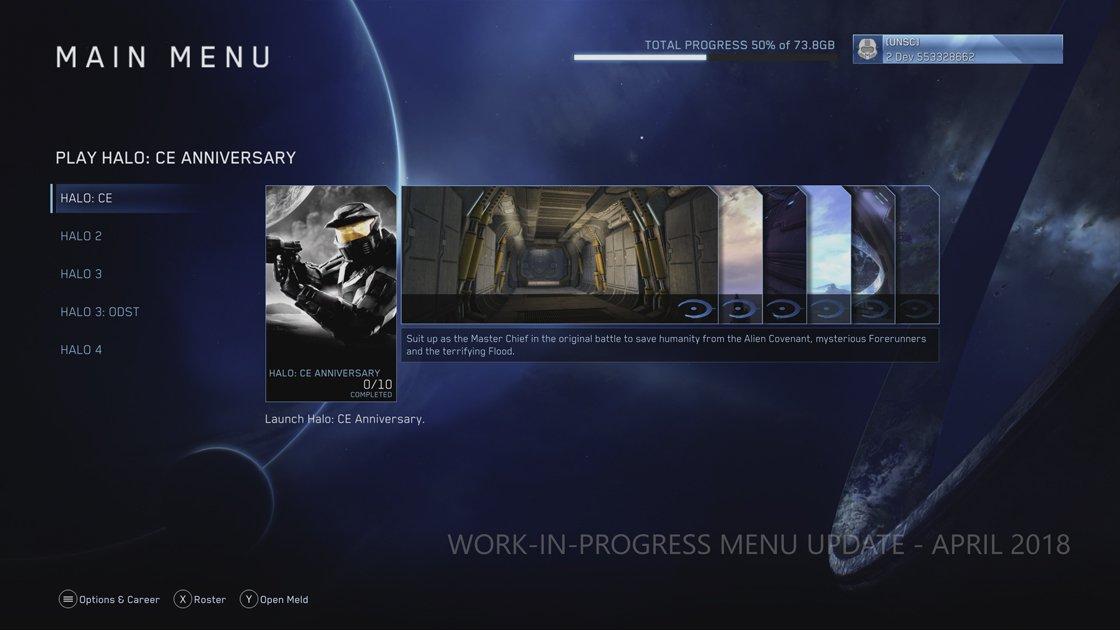 Reddit Halo On Twitter Official Work In Progress Ui Ux For