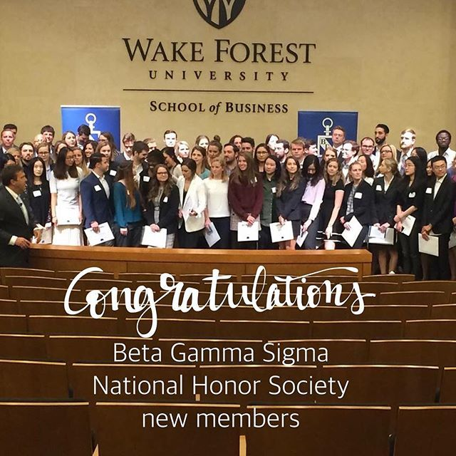 RT @WakeForestBiz: So proud of our students' achievements! Congratulations to our newest inductees into @bgshonorsociety @wakeforestbiz #bizdeacs #datadeacs #wakeforest #businesslife (📸 @amanda_horton ) https://t.co/DaI1863dIZ