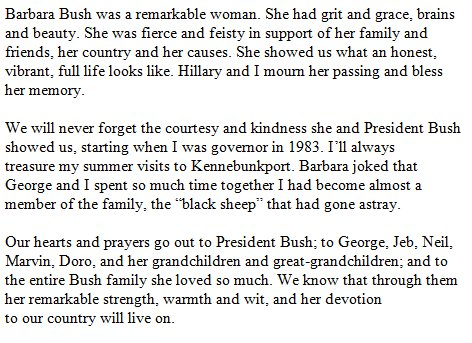 DbBh8YYUQAAoZc3?format=jpg&name=900x900 EUA. Morreu Barbara Bush, mulher e mãe de Presidentes