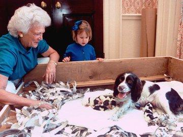 DbBk8WfWAAA95RE?format=jpg&name=360x360 EUA. Morreu Barbara Bush, mulher e mãe de Presidentes
