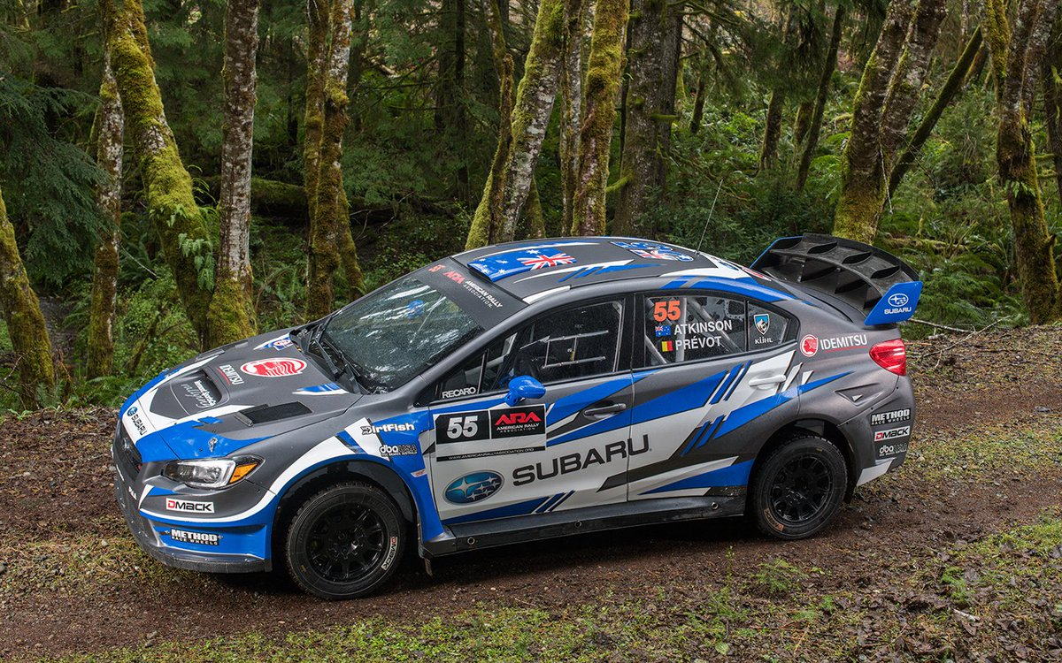 Subaru Rally Team USA on Twitter: \