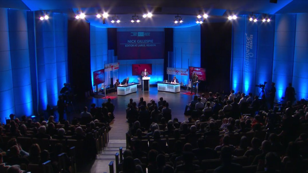 We're in the middle of audience questions in tonight's #debate on #NetNeutrality https://t.co/yXtWhYXFEy #IQ2USLive