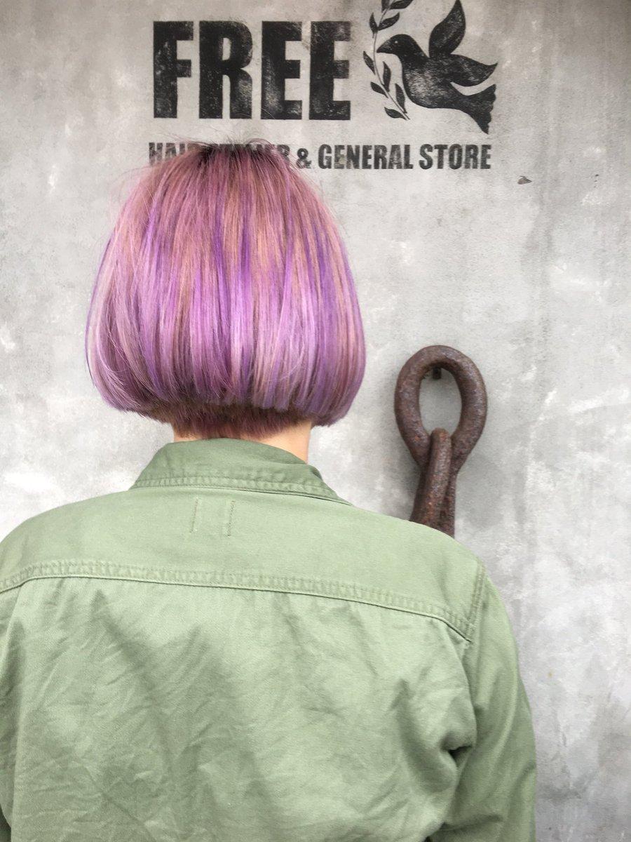 Uživatel hirobs na Twitteru \u201e💜ぼぶに薄紫のムラムラカラー