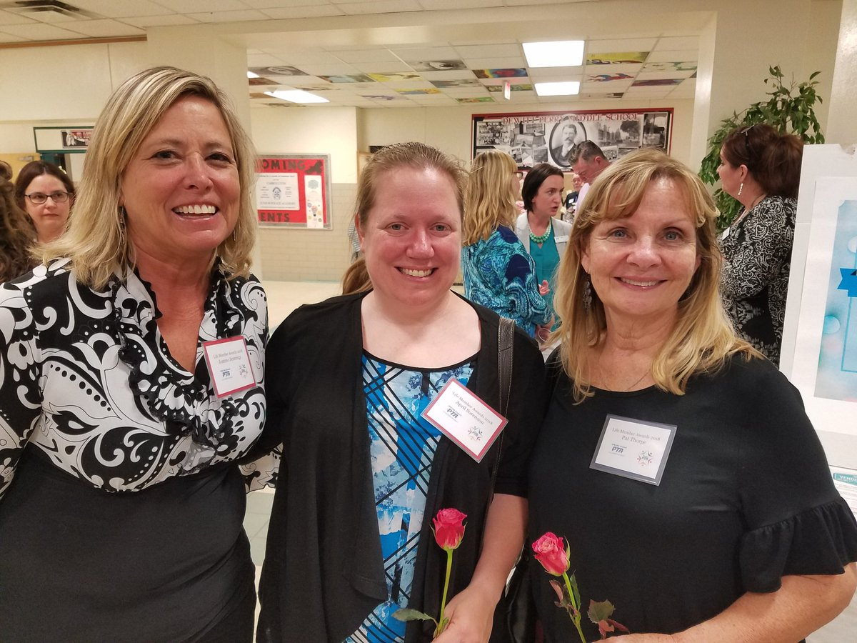 Dedicted to improving the life of children. These great ladies received PTA Life Member Awards.#kentrocks