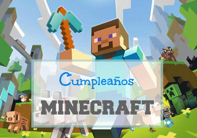 Historias De Pitufines On Twitter Cumpleanos Minecraft
