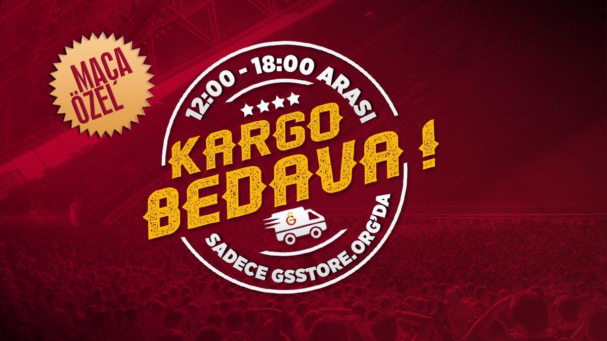 Gün Ortası | Maça Özel 12:00-18:00 Arası KARGO BEDAVA ! 👉 gsstore.org