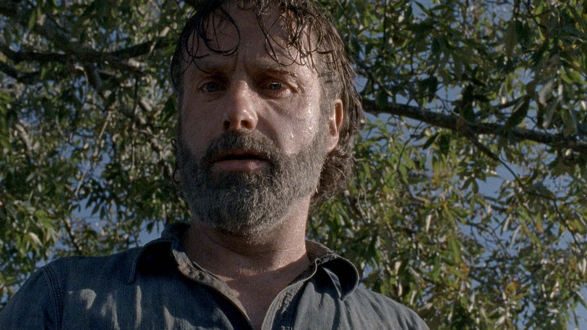 #AndrewLincoln as #RickGrimes in #TheWal...