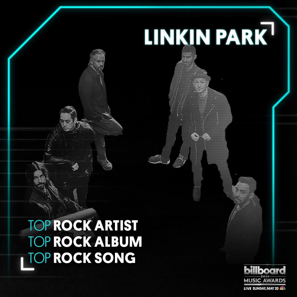 Honored to have 3 nominations at the 2018 @BBMAs. Watch the show, LIVE May 20th on NBC. #BBMAs https://t.co/dVSIqRAYCS