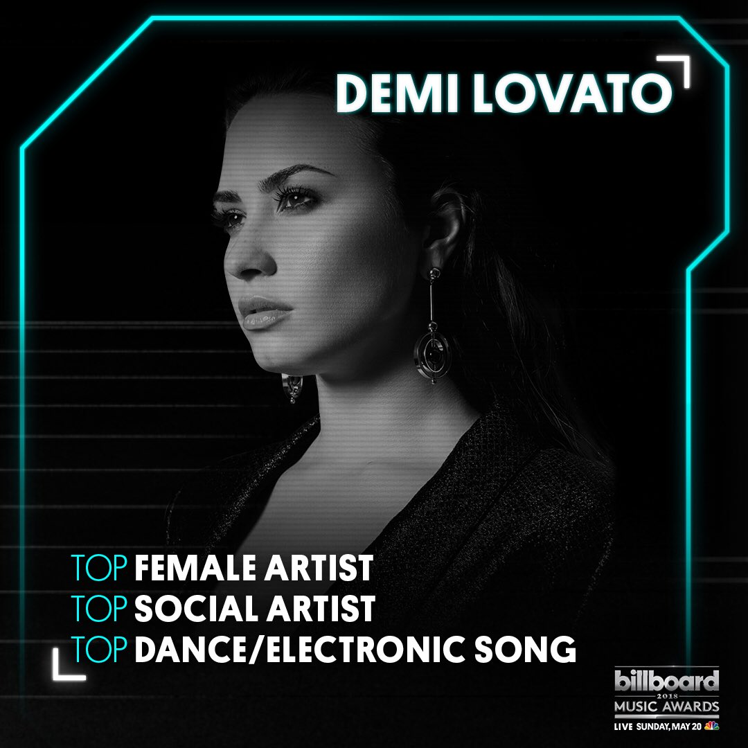 Thank you @BBMAs for the nominations ❤️❤️ https://t.co/DhG9kvhq9o