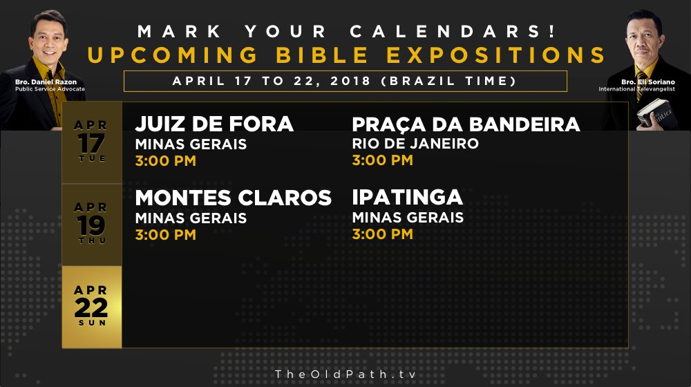 Ang dating daan schedules