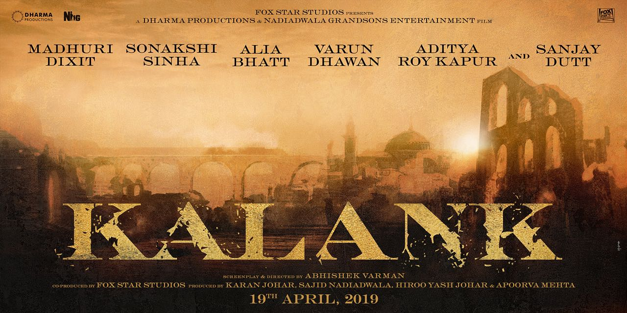Kalank (2018), Movie Cast, Story and Release Date
