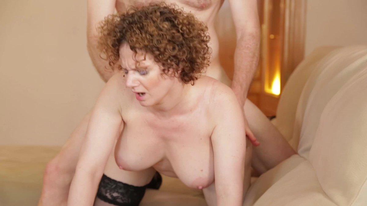 Curly hair latina sucking dick