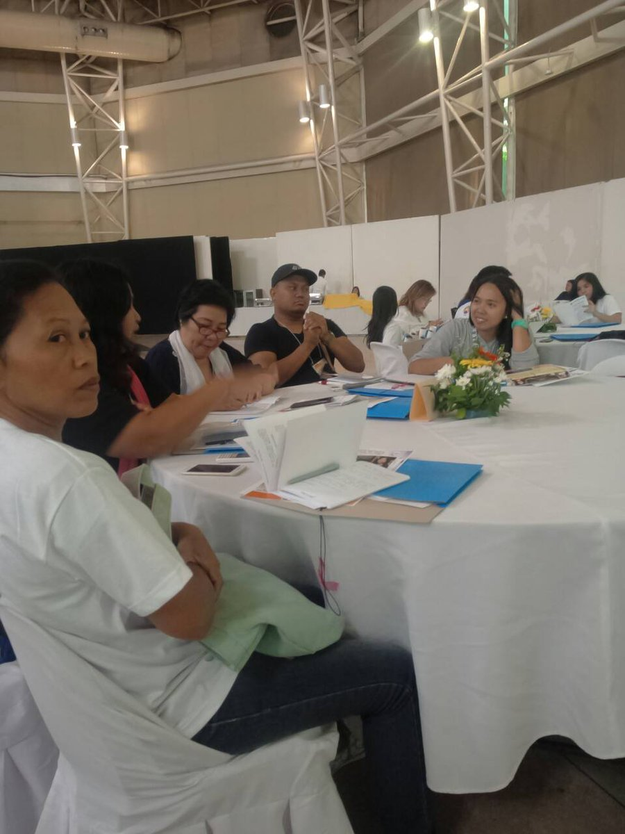 LOOK: CHED-Northern Mindanao joins the Nationwide Information Caravan for RA 10931 or the Universal Access to Quality Tertiary Education Act of 2017, along with ARMM's provinces of Maguindanao and Lanao at the Atrium, Limketkai Center, Cagayan de Oro City. | via Camcer Imam