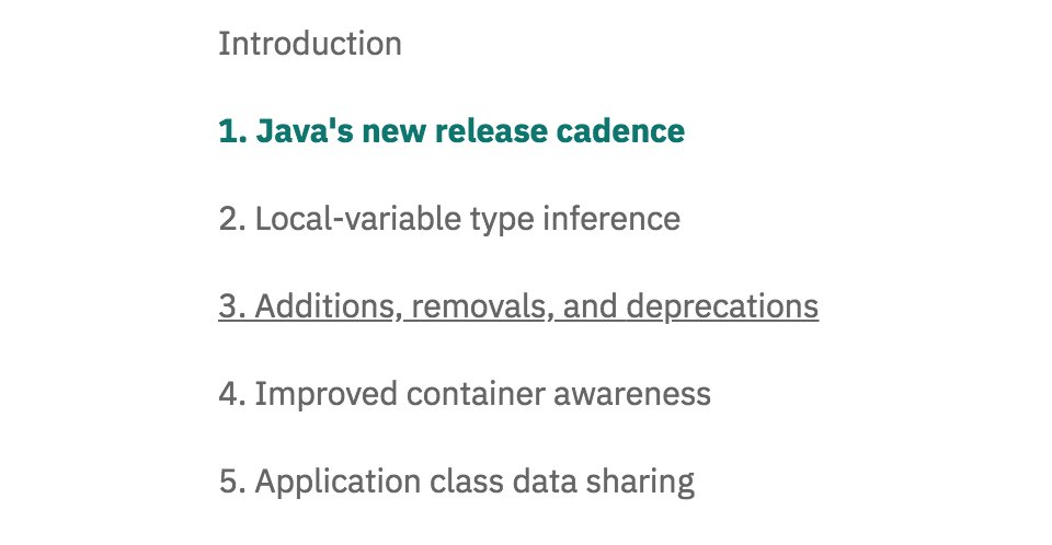 RT java: 5 things you didn&#39;t know about #Java10   https://www. ibm.com/developerworks /library/j-5things17/index.html &nbsp; …  <br>http://pic.twitter.com/pWVsSJR05w #oracle #ObjectOriented#programming #Programmer #Java #javascript #code #coding #MySQL #Python #Ruby #Swift #DevOps #API #php #Linux #webdev #AI #tech #Oracle #Algorithms #DeepLear…