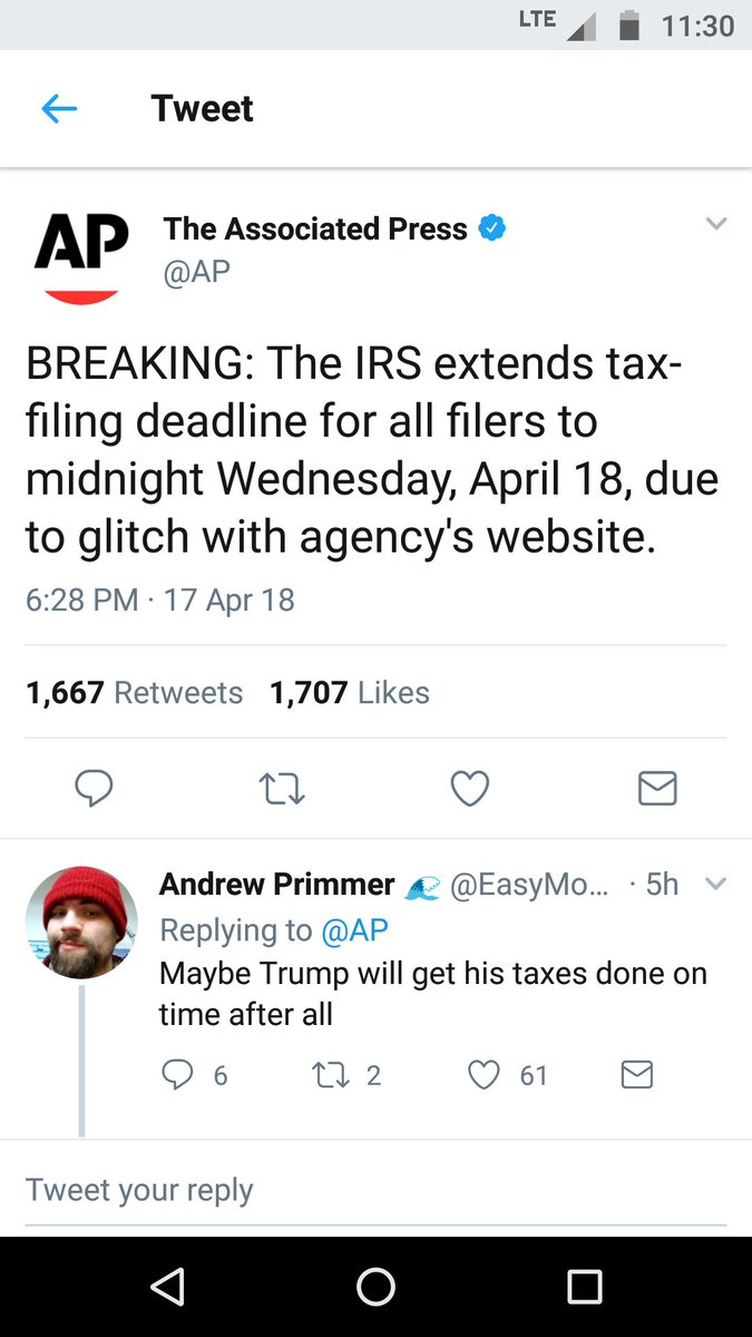 @officialmcafee All crypto 'investors' get one IRS day to pay up - like u were patriotically planning to do
