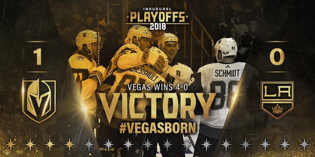 UNBELIEVABLE! Congrats @GoldenKnights #StanleyCup #VegasStrong 🏒🎉