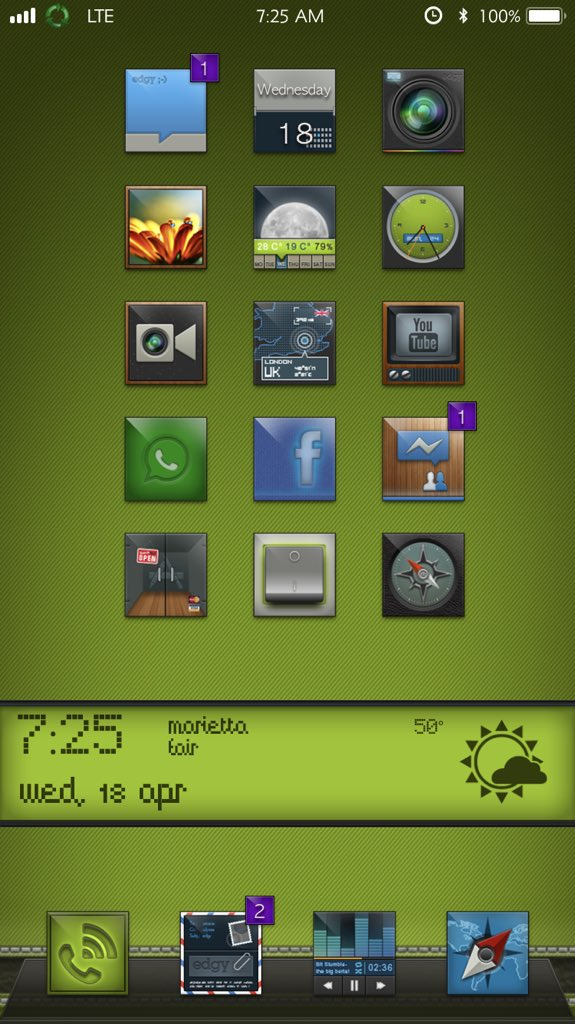 Next level Theme #Edgy11 By @daddykool666  Thank you<br>http://pic.twitter.com/6DFKCJJEDN