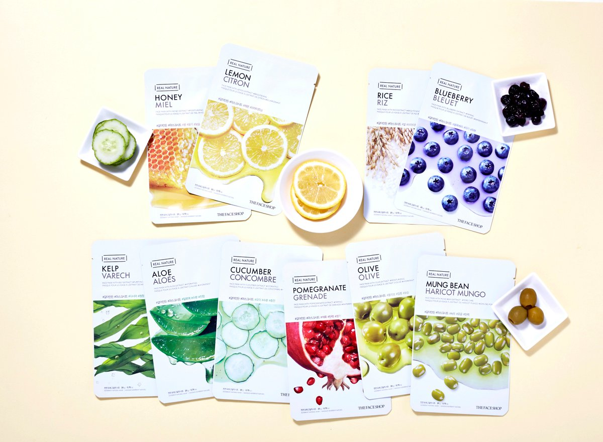 Thefaceshop Thailand On Twitter The Face Shop Real Nature Mask Sheet Kelp