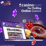 Image for the Tweet beginning: CasinoEuro is Europe's favourite online