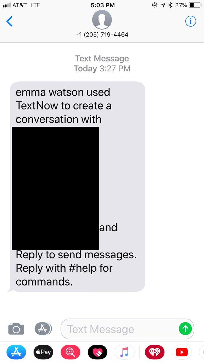 emma watson got my phone number tbh