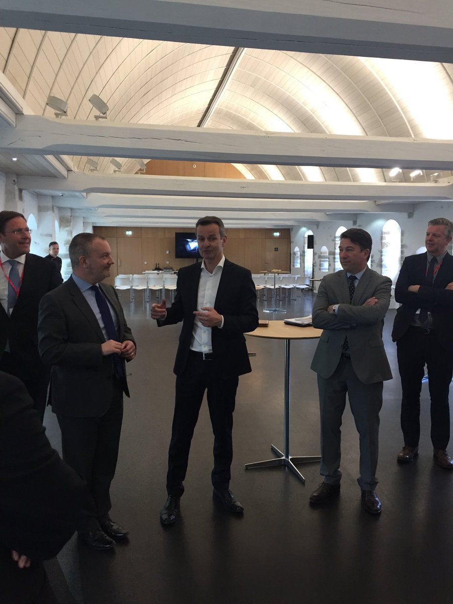 We have the #visit of @FCOMatthewLodge in Rennes to inaugurate the partnership between @cci35 and @fbcci delegation #bretagne. The #Ambassador is welcomed by Mr Olagnon of @Prefet22, Mr Couet @rennesmetropole and Mr Thaunier #president @cci35 @oliviercampenon @nicholasbeaty<br>http://pic.twitter.com/sIaaQdWLIW