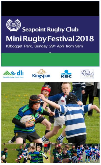 It's just under 2 weeks to the @seapointrfc blitz and this year we have over 100 teams participating. Thanks to our supporters this year @Kingspanafl, @AskKBCIreland , @dlrcc, @Newcastle_Des, @SVKilliney, @HavenIrl and @LansdownePartnership.   #FromTheGroundUp <br>http://pic.twitter.com/BDiQBMDZJ5
