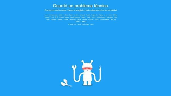#twitterdown Foto