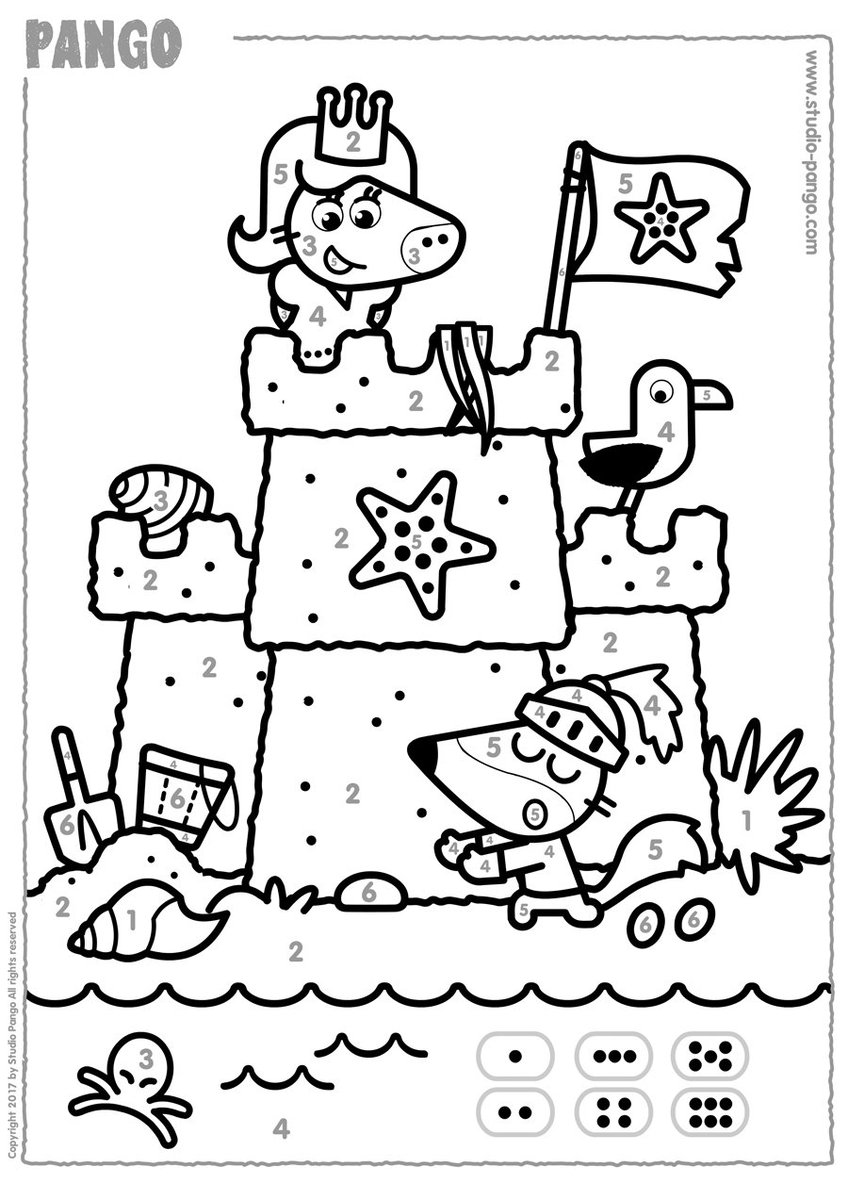 Pango On Twitter This Week Pangos Workshop Color A Sand Castle