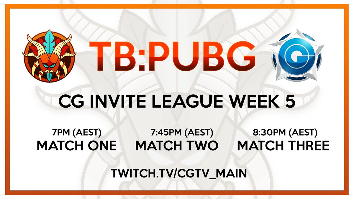 TB:PUBG is in action tonight in the @Cyb...