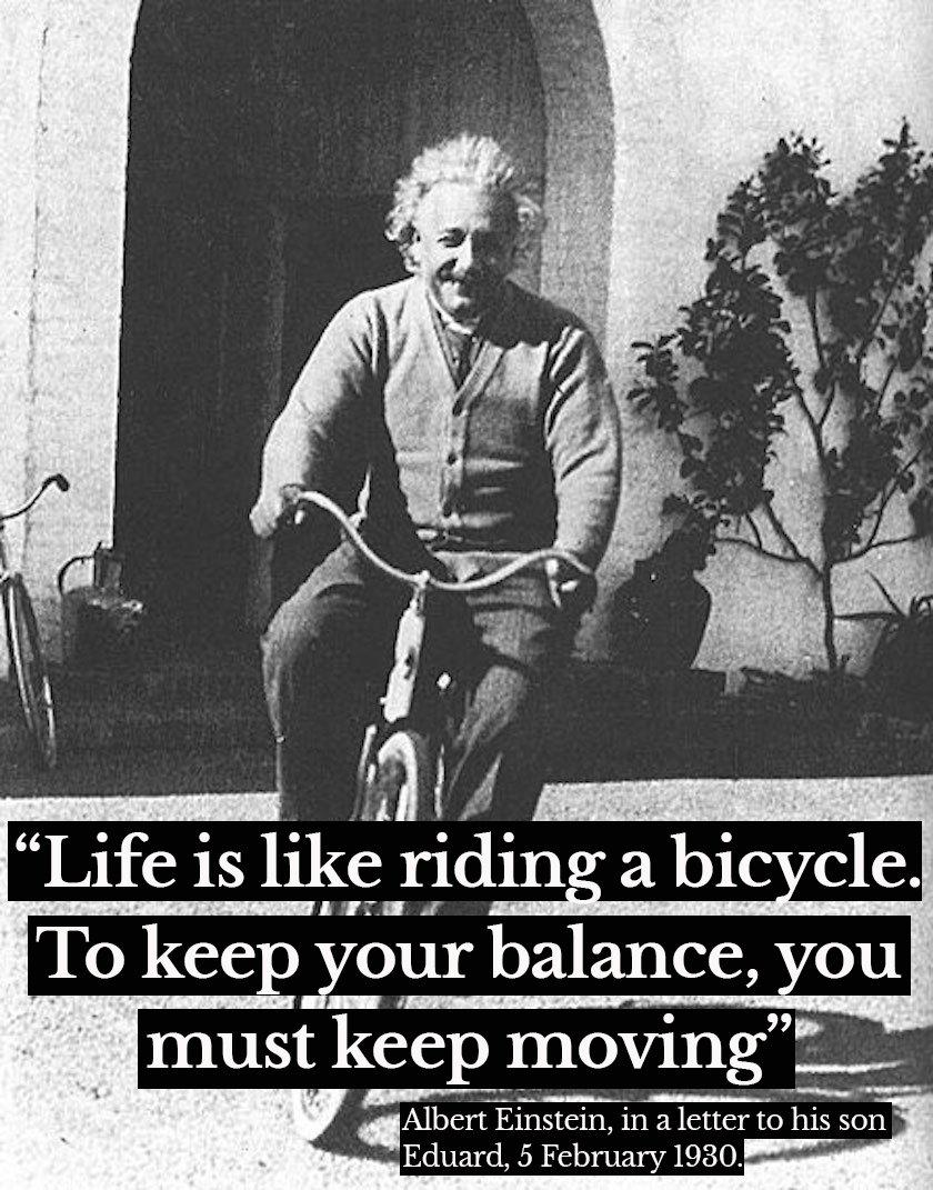 Sage words from a wise man #Einstein