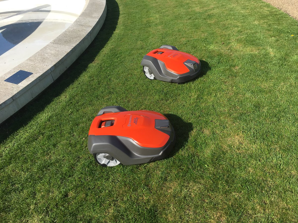 roboticmowing hashtag on Twitter