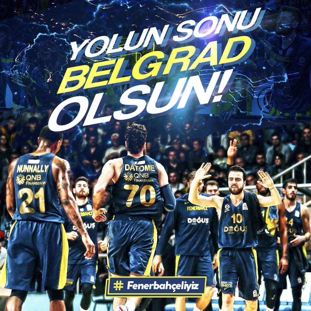 Sonu Belgrad olsun! Zorlu EuroLeague Pla...
