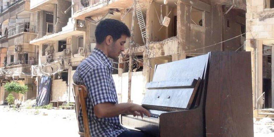 Aeham Ahmad : sept ans de guerre en Syrie dans son piano https://t.co/jNPvm42HQw